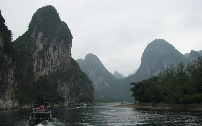 Guilin Mountains Natural Attraction