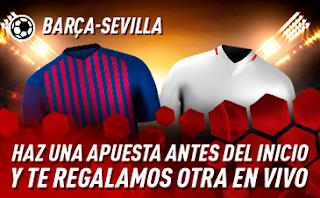 sportium Promo Barcelona vs Sevilla 20 octubre