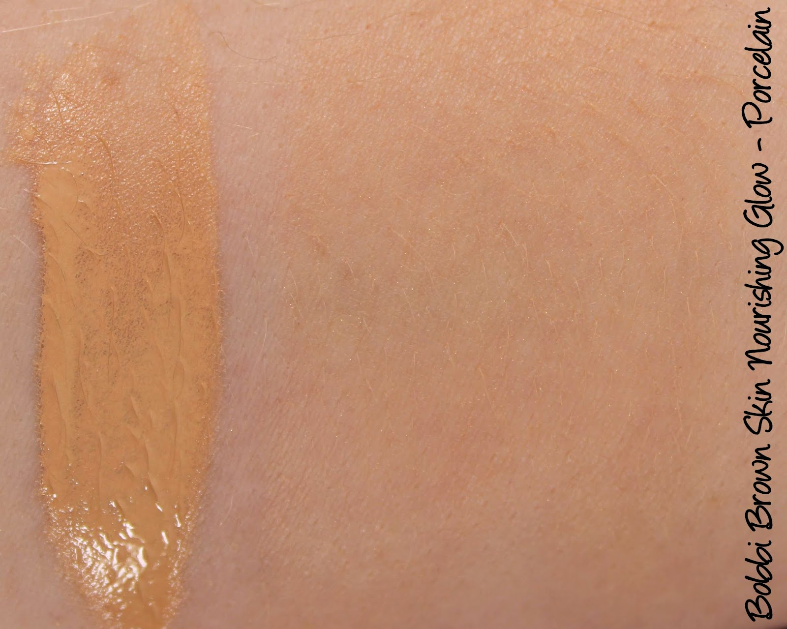 Bobbi Brown Skin Nourishing Glow Porcelain Swatches Review