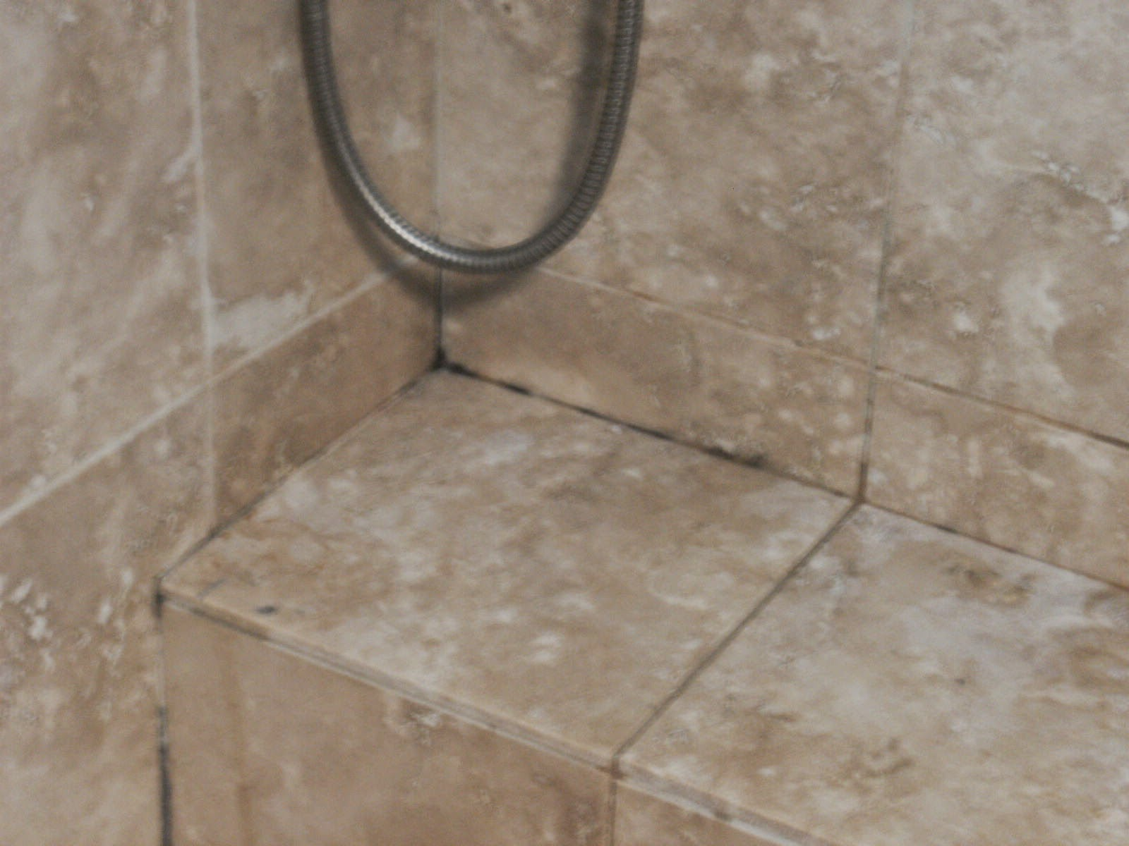 Black Mold Travertine Tile Revisit