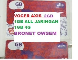Voucher Axis 2GB