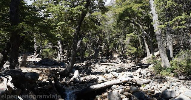 Hiking, Trekking, refugio Lopez, arroyo Lopez, Bariloche