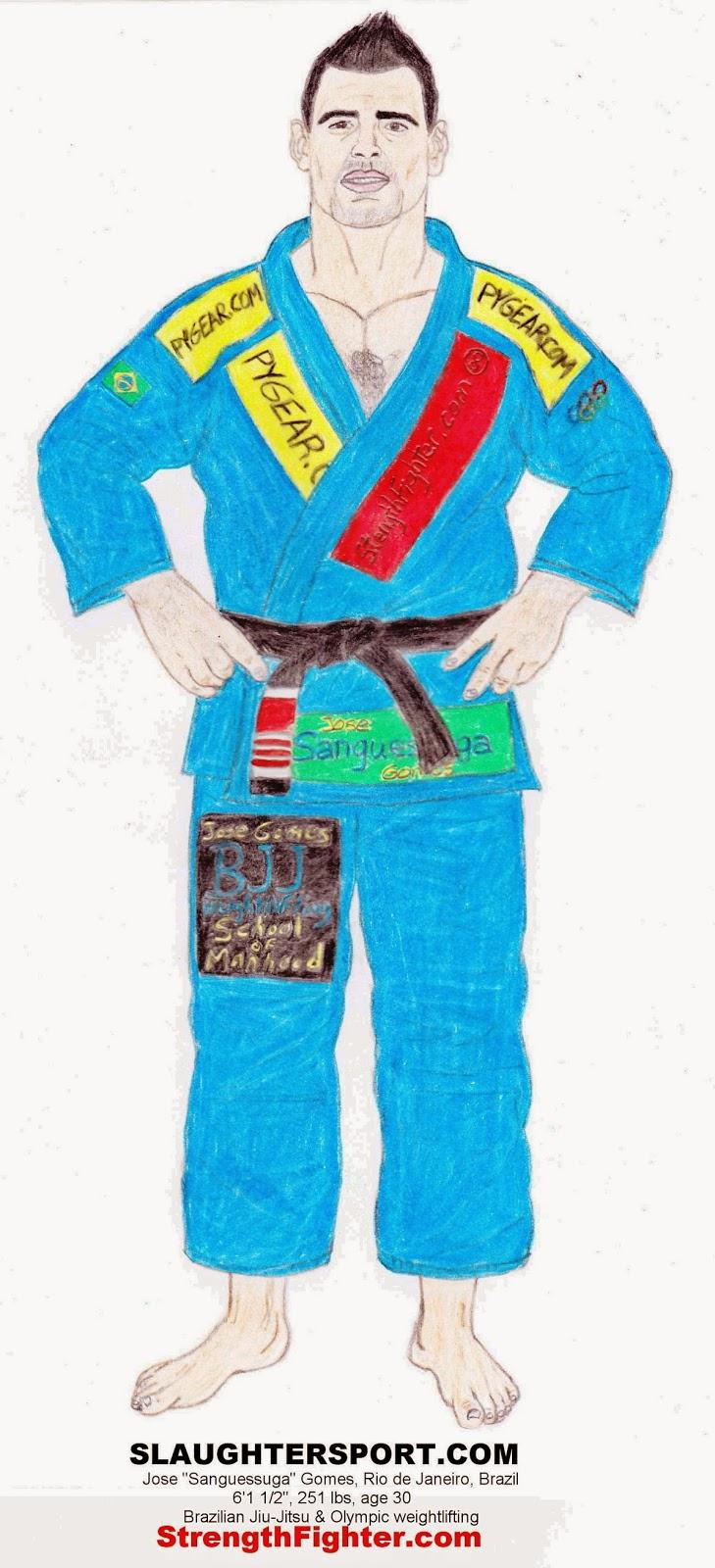 The Leech: Brazilian Jiu Jitsu master & strongman