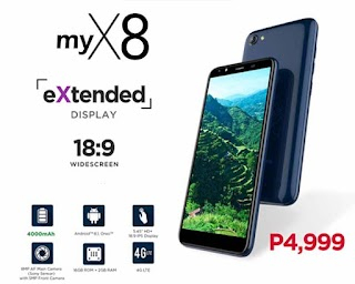 MyPhone MyX8 – Specifications, Price and Features
