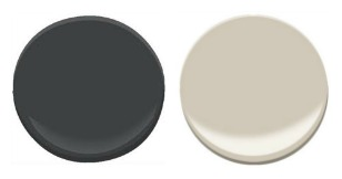 Sherwin-Willaims Iron ore and Sherwin-Williams Accessible Beige