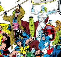 Hulk contra Gambito y el Hombre de Hielo