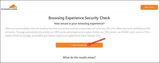 هل يحترم المتصفح الذي تستخدمه خصوصيتك ؟ تحقق عبر هذا الموقع إذا كنت تستخدم Secure DNS و DNSSEC و TLS 1.3 والمزيد بنقرة واحدة