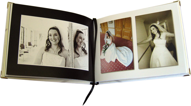 Wedding Guest Book With Photo Insert