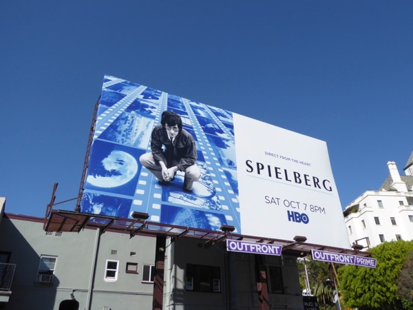 Spielberg documentary billboard