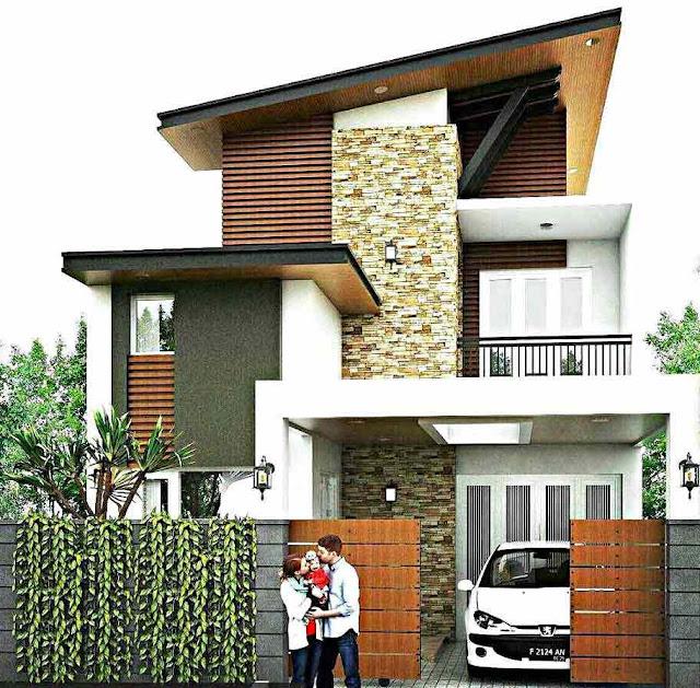 Inspirasi Model Desain Rumah Minimalis 2 Lantai Sederhana
