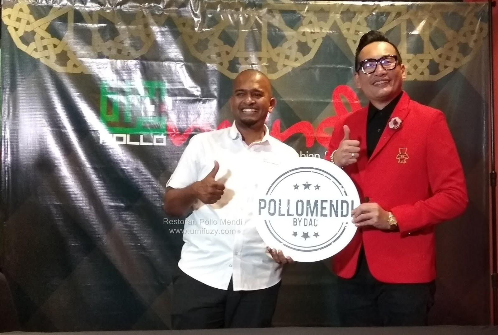 Pollo Mendi Restoran Makanan Arab & Italian Memperkenalkan Dato AC Mizal Sebagai Rakan Kongsi