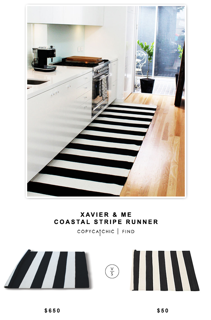 Copy Cat Chic Xavier Amp Me Costal Stripe Runner