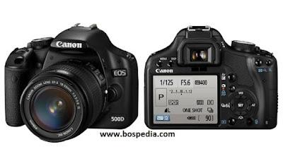 Harga dan Spesifikasi Kamera Dslr Canon 500D Terbaru 2016