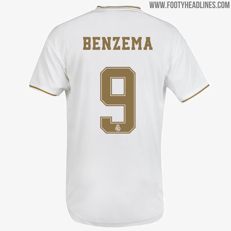 new product e6809 b6e1c Hazard Confirmed?! Classy Real Madrid 19-20 Kit Font ...