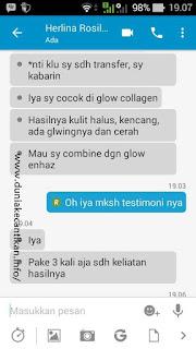 Testimoni Glow Collagen