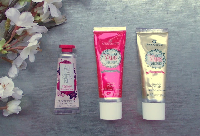 loccitane arlesienne essence the little xmas factory hand creams