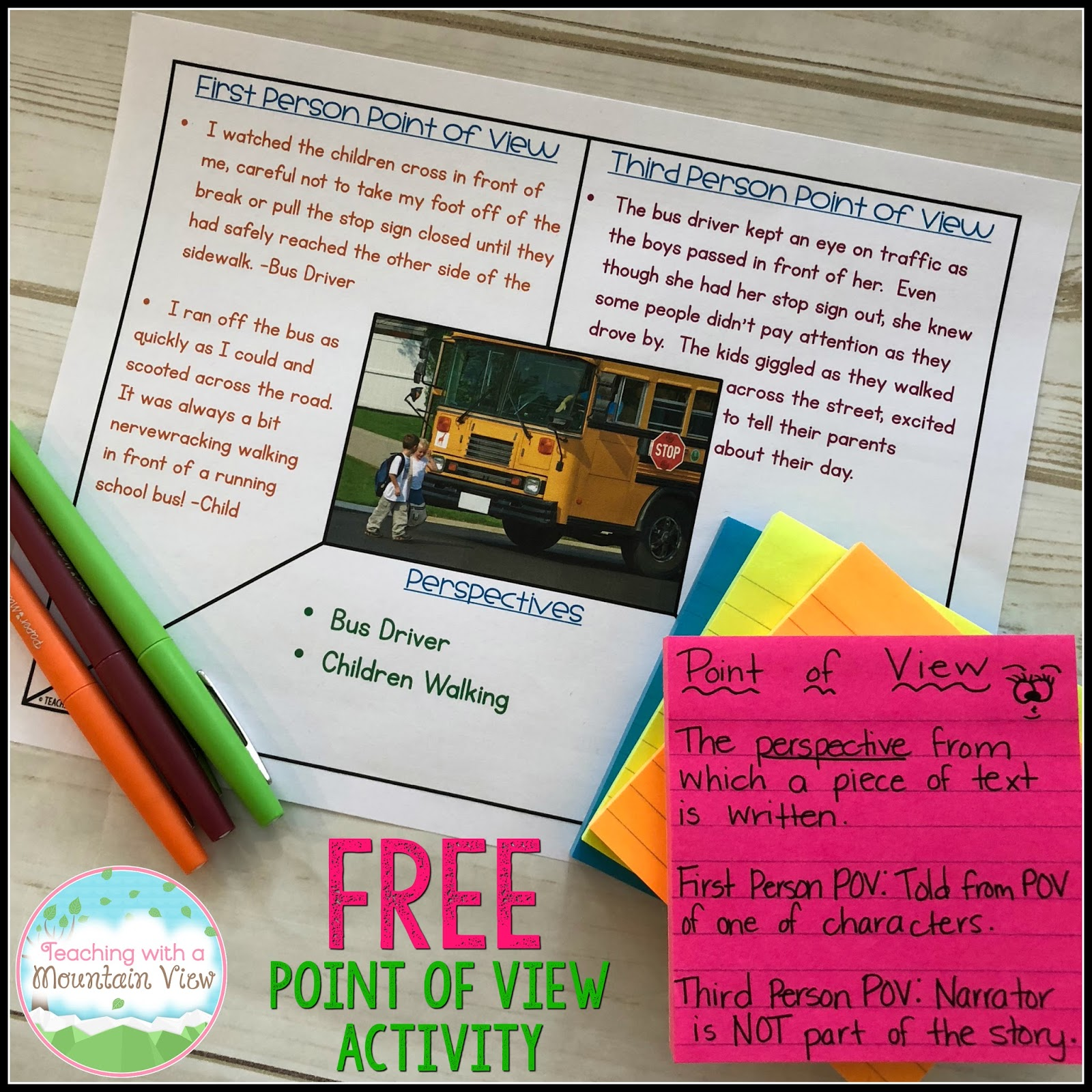 Teaching With A Mountain View Teaching Point Of View