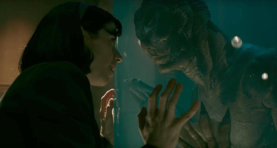 """13 nominations all'OScar per il film """"La forma dell'acqua"""" (The Shape of Water) di Guillermo del Toro"""
