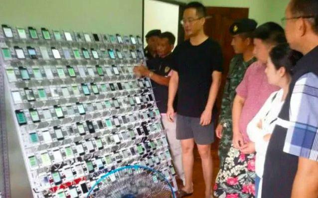 """""""Pabrik Like"""" Digerebek, Polisi Sita 400 iPhone dan 300.000 Kartu SIM"""