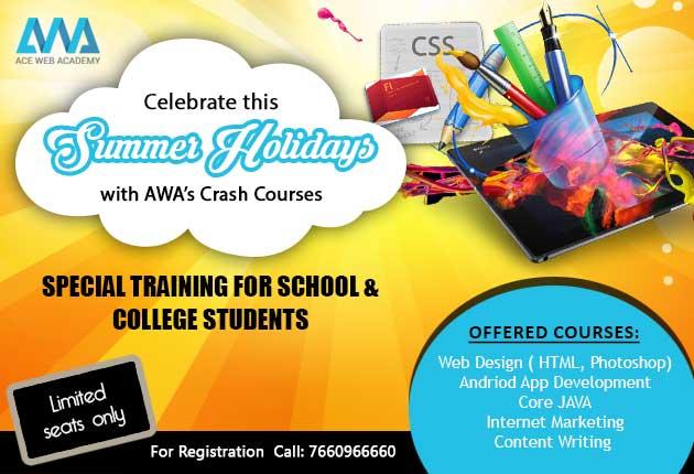 Summer special training in Hyderabad