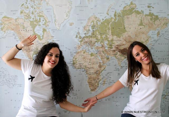 ENTREVISTA VIAJERA 25. MARTA Y LISI, TRIPULANTES DE NUESTROAVION.COM