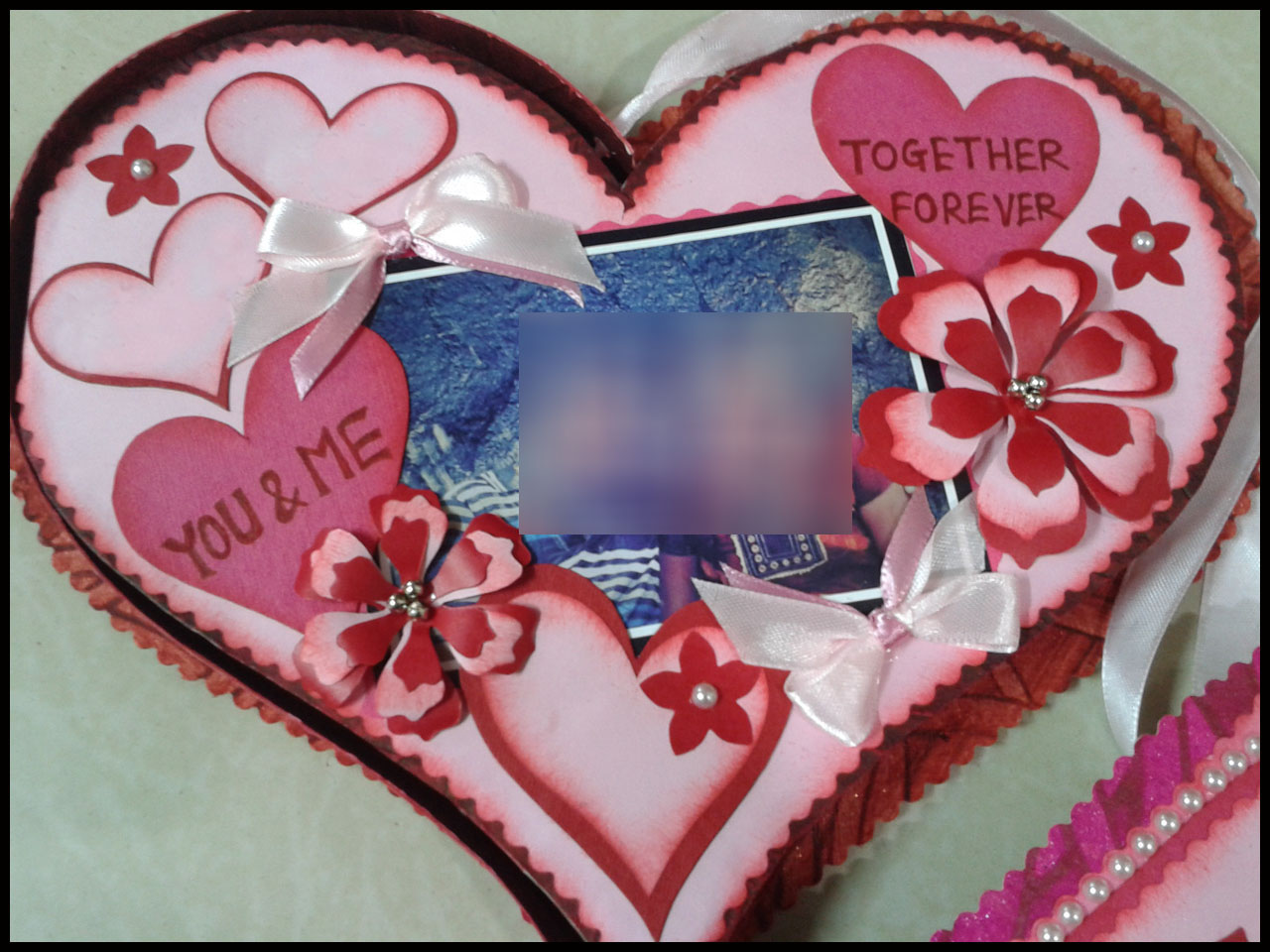 Lina's Handmade Cards: Romantic Birthday Card For Husband