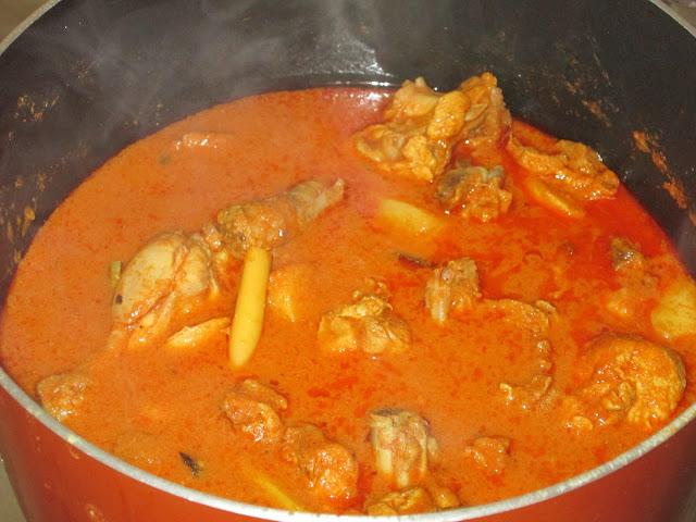 Resep Membuat Kari Ayam