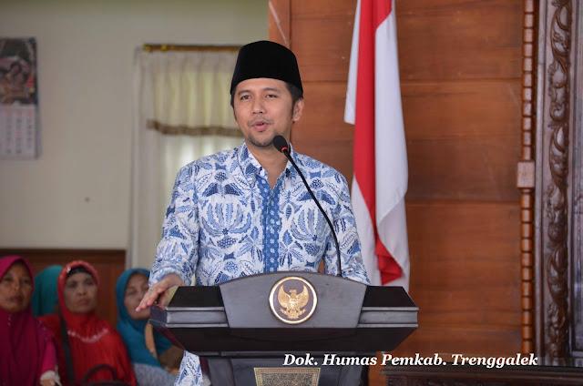 Terima Kunjungan Muslimat dan Fatayat NU Tulungagung, Bupati Emil Dardak Serukan Kemajuan Bersama