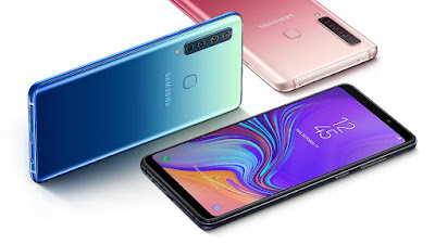 Samsung Galaxy A9 (2018)  with Four Rear Cameras launched