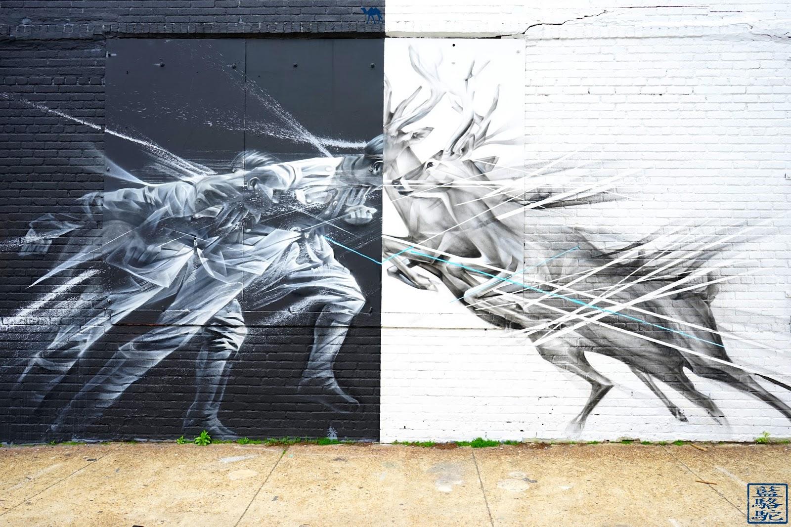 Le Chameau Bleu - Home Cerf - Bushwick - Balade à Brooklyn New York