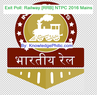 Exit Poll: Railway NTPC Mains According to Answer Key