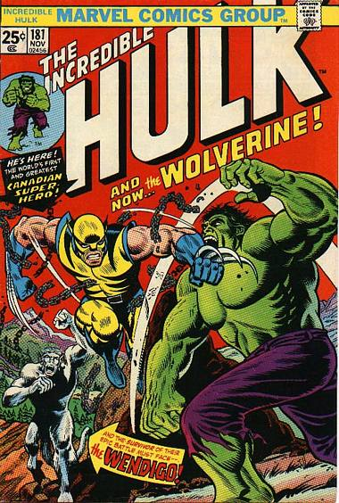 Incredible Hulk 181 comic