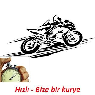 hızlı motorlu kurye ile işinize hız katar