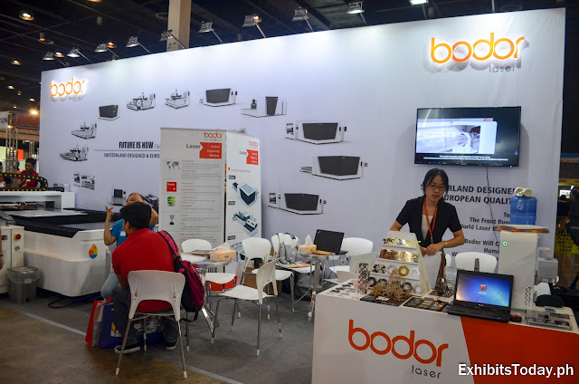 Bodor Laser Exhibit Booth