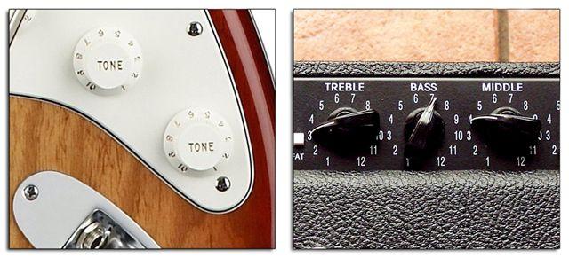 Tono de Guitarra y Ecualizador de Amplificador