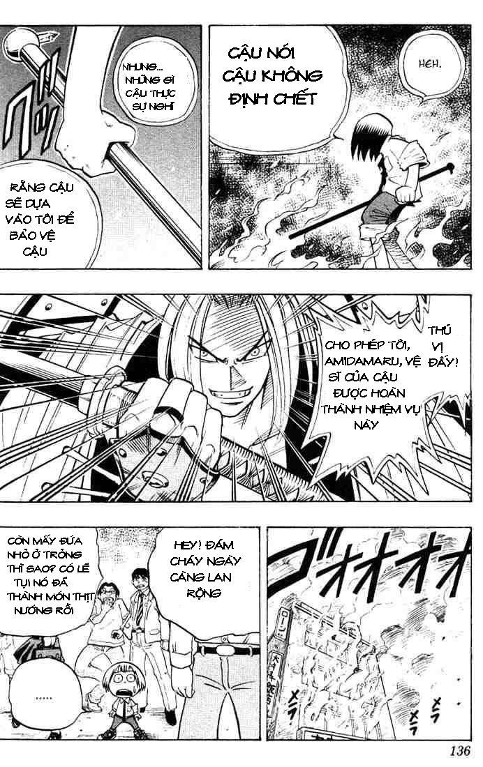 Shaman King [Vua pháp thuật] chap 5 trang 16