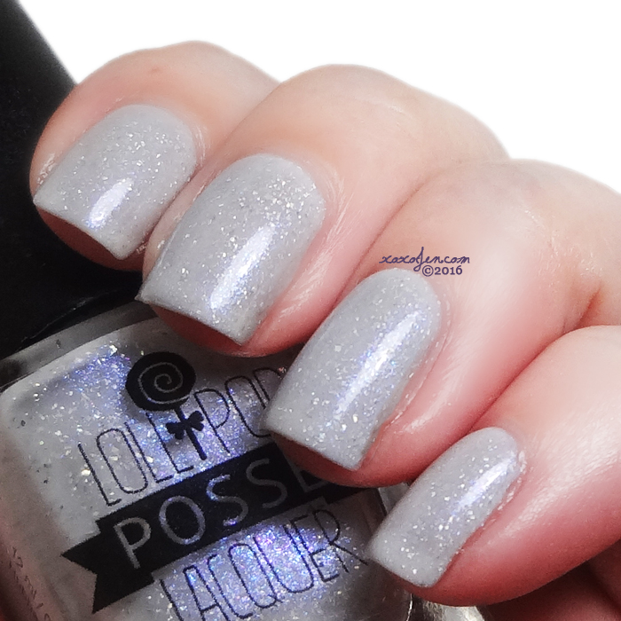xoxoJen's swatch of Lollipop Posse Glittery Gray Matters
