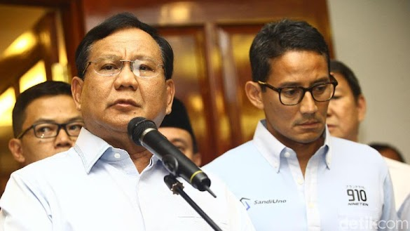 Kubu Prabowo-Sandiaga Tepis 'Miskin' 3M