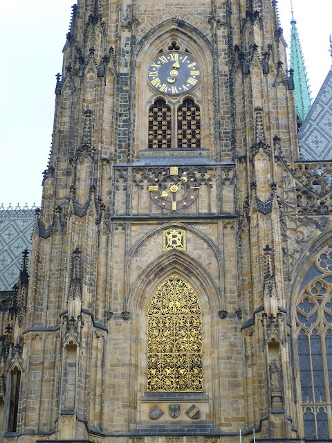 Чехия, Прага - собор Святого Вита (Czech Republic, Prague - St. Vitus Cathedral)