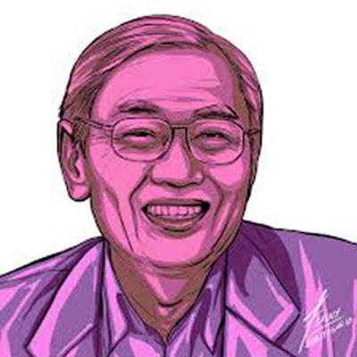 Biografi & Pemikiran Cak Nur    Prof. Dr. Nurcholish Madjid (lahir di Jombang, Jawa Timur, 17 Maret 1939 – meninggal di Jakarta, 29 Agustus 2005 pada umur 66 tahun) atau populer dipanggil Cak Nur, adalah seorang pemikir Islam, cendekiawan, dan budayawan Indonesia. Pada masa mudanya sebagai aktifis Himpunan Mahasiswa Islam, ide dan gagasannya tentang sekularisasi dan pluralisme pernah menimbulkan kontroversi dan mendapat banyak perhatian dari berbagai kalangan masyarakat. Nurcholish pernah menjabat sebagai Wakil Ketua Dewan PenasehatIkatan Cendekiawan Muslim Indonesia, dan sebagai Rektor Universitas Paramadina, sampai dengan wafatnya pada tahun 2005  Masa kecil dan pendidikan Ia dibesarkan di lingkungan keluarga kiai terpandang di Mojoanyar, Mojokerto, Jawa Timur. Ayahnya, KH Abdul Madjid, dikenal sebagai pendukung Masyumi. Setelah melewati pendidikan di berbagai pesantren, termasuk Gontor, Ponorogo, menempuh studi kesarjanaanIAIN Jakarta (1961-1968), tokoh HMI ini menjalani studi doktoralnya di Universitas Chicago,Amerika Serikat (1978-1984), dengan disertasi tentang filsafat dan kalam Ibnu Taimiyah.  Ide pembaharuan Islam Cak Nur dianggap sebagai ikon pembaruan pemikiran dan gerakan Islam di Indonesia. Gagasannya tentang pluralisme telah menempatkannya sebagai intelektual Muslim terdepan di masanya, terlebih di saat Indonesia sedang terjerumus di dalam berbagai kemorosotan dan ancaman disintegrasi bangsa.  Cak Nur dikenal dengan konsep pluralismenya ya