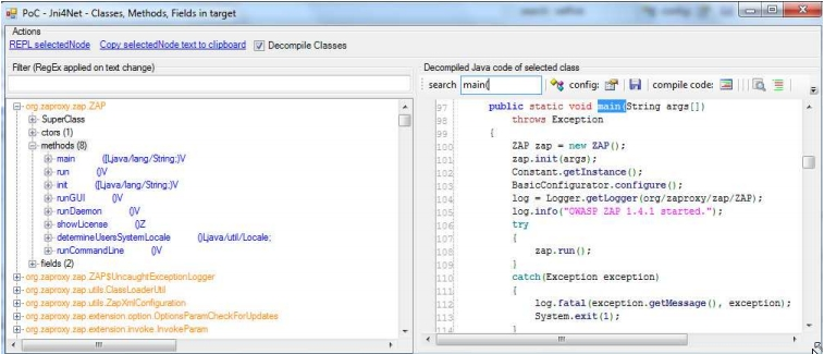 Dinis Cruz Blog: Using Jni4Net (Part 1) - To C# REPL a java