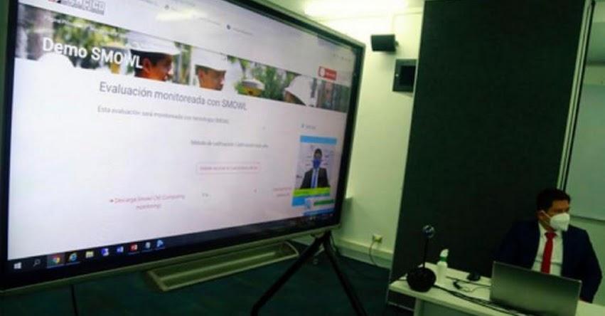 SENCICO usará sistema de reconocimiento facial en Examen de Admisión Virtual - www.sencico.gob.pe