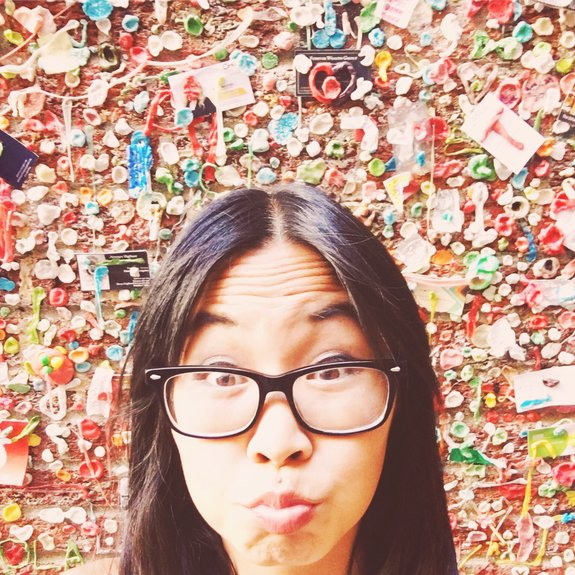 most instagrammable places in seattle gum wall pike place