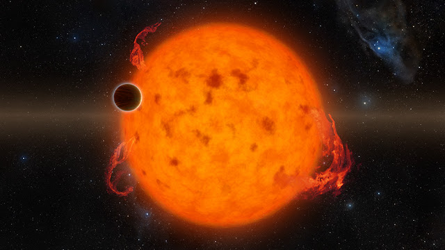 NASA's K2 finds newborn exoplanet around young star