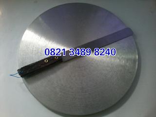 Wajan crepes curah aluminium bagus untuk usaha jual kue crepes