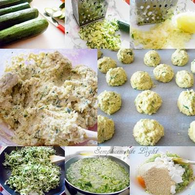 passaggi per preparare le polpette con zucchine e patate