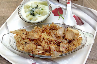 Tender jackfruit Pulao