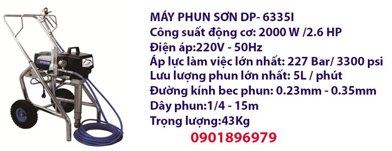 MÁY PHUN SƠN DP- 6335I