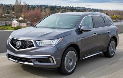 The 2017 Acura Mdx Sport Hybrid Sh-Awd Configuration