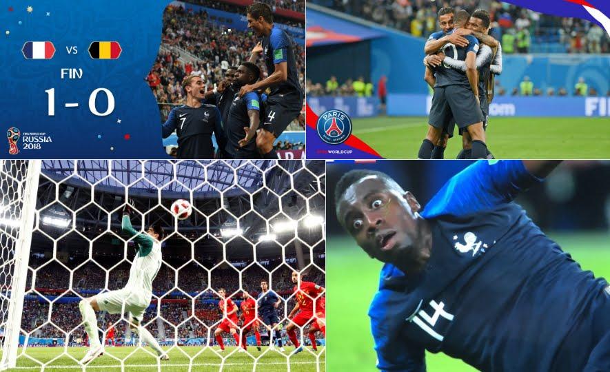Francia in Finale dopo 12 anni: battuto il Belgio con gol di Umtiti | Mondiali Calcio Russia 2018.